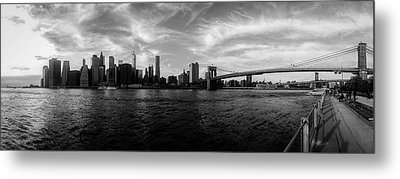 New York Skyline Metal Print by Nicklas Gustafsson