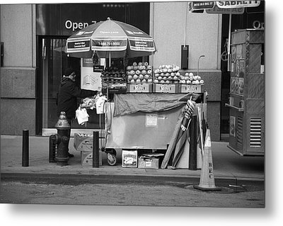 New York Street Photography 6 Metal Print by Frank Romeo