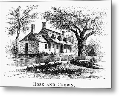 New York: Tavern, C1776 Metal Print by Granger