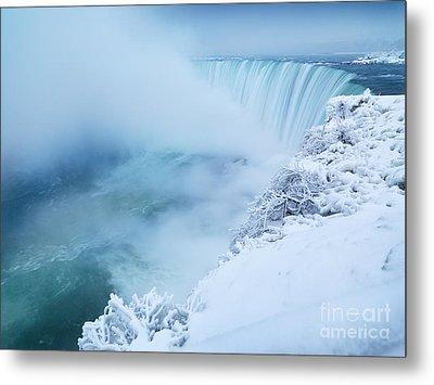 Niagara Falls In Winter Metal Print by Oleksiy Maksymenko