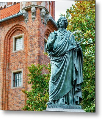 Nicolaus Copernicus Monument Metal Print by Babak Tafreshi
