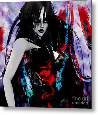Night Metal Print by Ashantaey Sunny-Fay