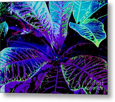 Night Falls On The Croton Metal Print by Ann Johndro-Collins