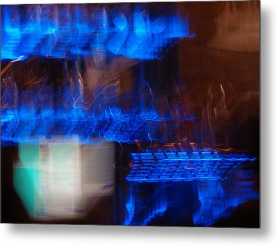 Night Life Metal Print by Canyon Cassidy