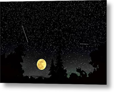 Night Moves Metal Print by Steve Harrington