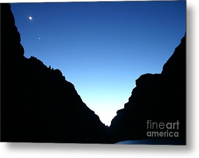 Night On The Grand Metal Print by Crystal Magee
