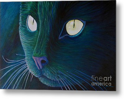 Night Vision Metal Print by Brian  Commerford