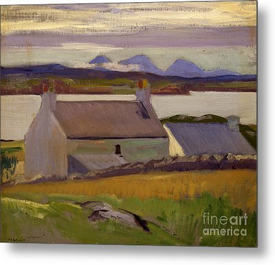 Nightfall  Iona Metal Print by Francis Campbell Boileau Cadell