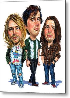 Nirvana Metal Print by Art