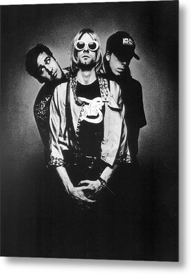 Nirvana Band Metal Print by Retro Images Archive