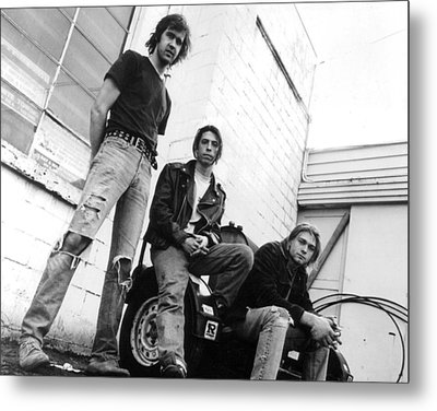Nirvana Outside  Metal Print by Retro Images Archive