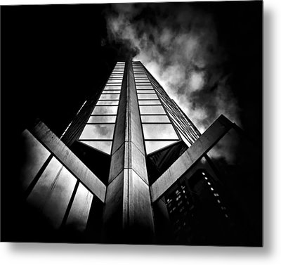 No 595 Bay St Toronto Canada Metal Print by Brian Carson