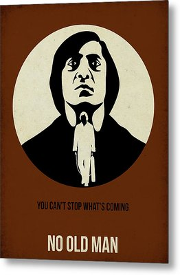 No Country For Old Man Poster Metal Print by Naxart Studio