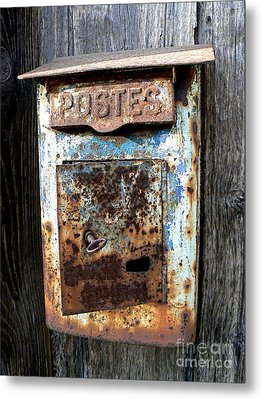 No Mail Today Metal Print by France  Art