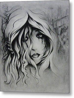 No More Tears Metal Print by Rachel Christine Nowicki