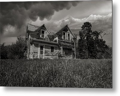 No Place Like Home Metal Print by Aaron J Groen