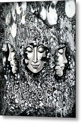 No Title Metal Print by Kritsana Tasingh