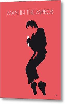 No032 My Michael Jackson Minimal Music Poster Metal Print by Chungkong Art