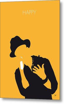 No034 My Pharrell Williams Minimal Music Poster Metal Print by Chungkong Art