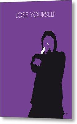 No041 My Eminem Minimal Music Poster Metal Print by Chungkong Art