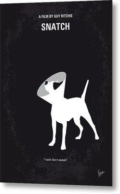 No079 My Snatch Minimal Movie Poster Metal Print by Chungkong Art