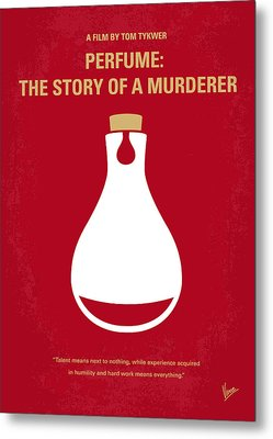 No194 My Perfume The Story Of A Murderer Minimal Movie Poster Metal Print by Chungkong Art
