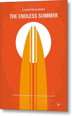 No274 My The Endless Summer Minimal Movie Poster Metal Print by Chungkong Art