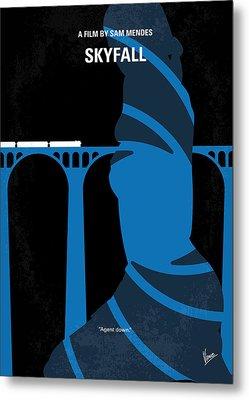 No277-007-2 My Skyfall Minimal Movie Poster Metal Print by Chungkong Art
