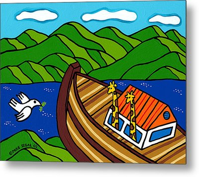 Noah's Ark Metal Print by Mike Segal