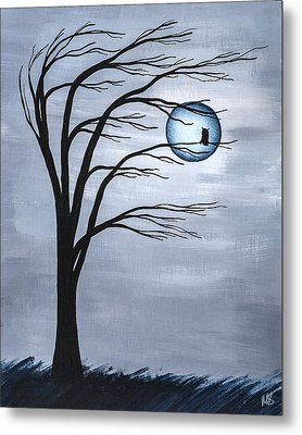 Nocturnal Metal Print by Melissa Smith