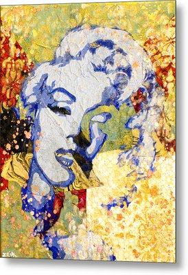 Norma Jean Be Fading Fast Metal Print by Bobby Zeik