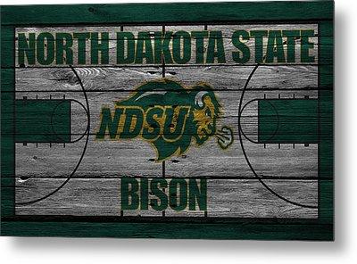 North Dakota State Bison Metal Print by Joe Hamilton