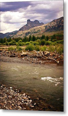 North Of Dubois 2 Metal Print by Marty Koch