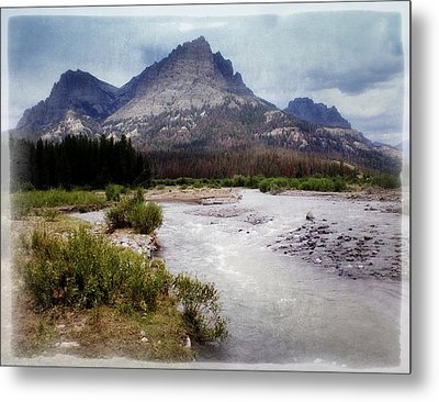North Of Dubois Metal Print by Marty Koch