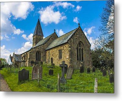 North Otterington Church Metal Print by Trevor Kersley