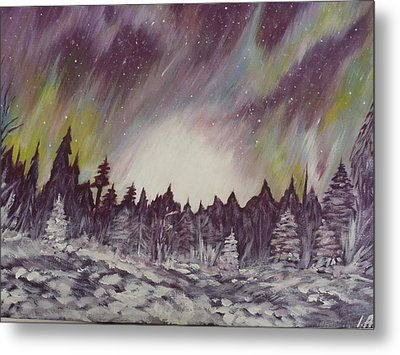 Northern Lights  Metal Print by Irina Astley