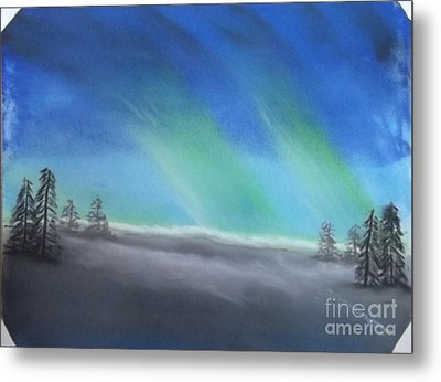 Northern Lights Metal Print by Tracey Williams