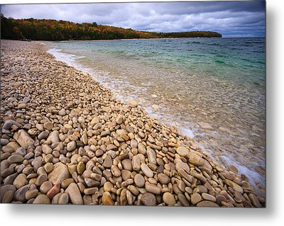 Northern Shores Metal Print by Adam Romanowicz