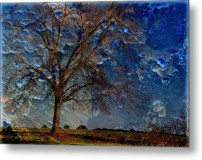 Nothing But Blue Skies Metal Print by Jan Amiss Photography