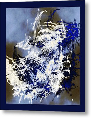 Nothingness Metal Print by Herbert French