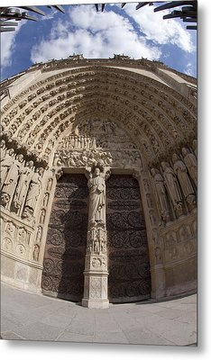 Notre Dame 4 Metal Print by Art Ferrier