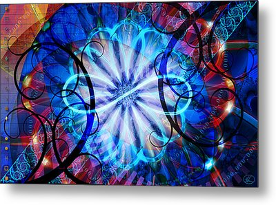 Novem Metal Print by Kenneth Armand Johnson