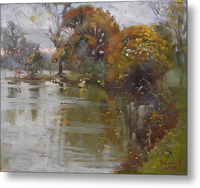 November 4th At Hyde Park Metal Print by Ylli Haruni