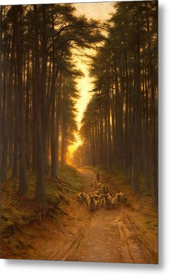 Now Came Still Evening On, C.1905 Metal Print by Joseph Farquharson