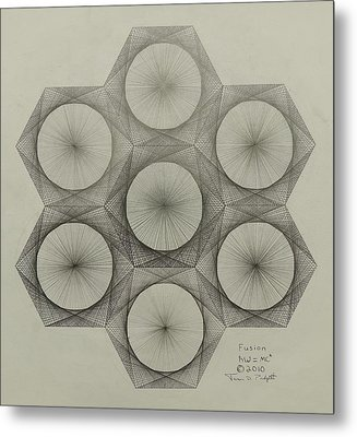 Nuclear Fusion Metal Print by Jason Padgett