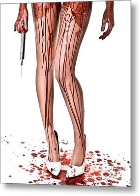 Nurse Help Metal Print by Jt PhotoDesign