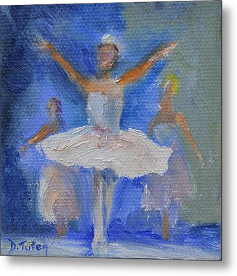 Nutcracker Ballet Metal Print by Donna Tuten