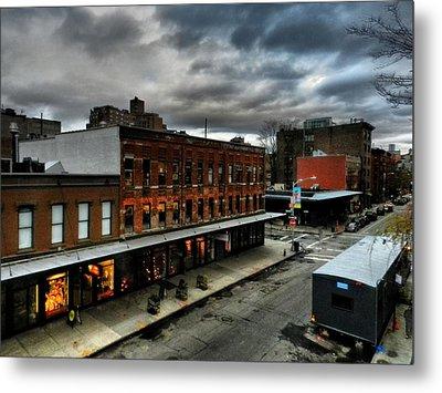 Nyc - High Line - Meatpacking District 004 Metal Print by Lance Vaughn