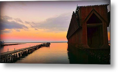 Oar Metal Print by Amanda St Germain
