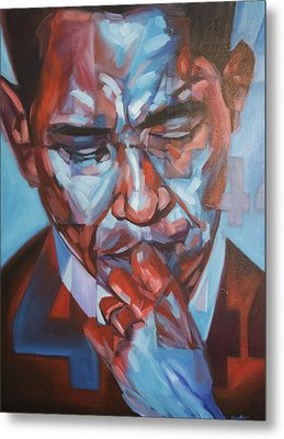 Obama 44 Metal Print by Steve Hunter